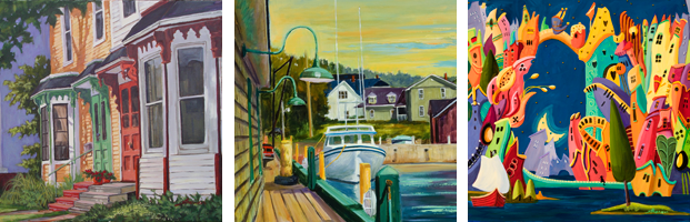 Suzanne Therrien, Rue Prince, Port de Victoria, L'Ile des pirates