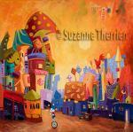 Suzanne Therrien, Entre lune et étoiles, 30 x 30, 2175 $