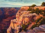 Suzanne Therrien, Grand canyon, acrylique