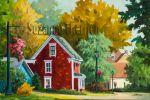 Suzanne Therrien, Mahoney bay, acrylique, 16 x 24 po