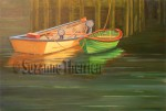Suzanne Therrien, Peggys Cove, acrylique, 24 x 36 po
