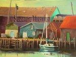 Suzanne Therrien, Petite port, N.E., 18 x 24 po