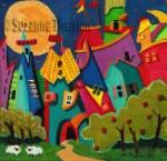 Suzanne Therrien, Le soleil s'est endormi, acrylique, 8 x 8 po