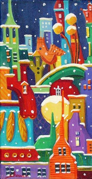 Suzanne Therrien, L'hiver en ville