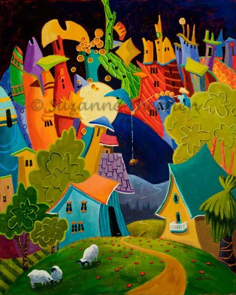 Suzanne Therrien, La route de la soie