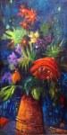 Suzanne Therrien,Fleurs de nuit, Galerie Entr'art