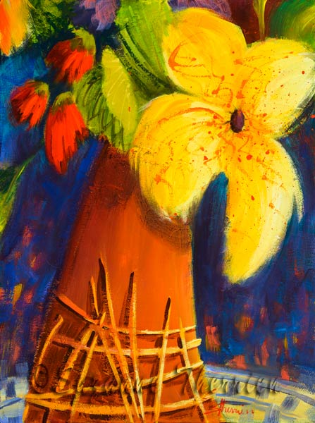 Suzanne Therrien, Fleurs en pot