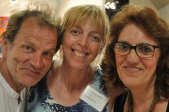 Bruce Roberts, Chantal Julien et Jeannine Bourret