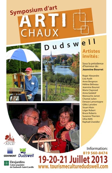 Affiche du Symposium Arti-chaux