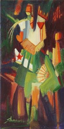 Suzanne Therrien, Un atout dans la manche, Galerie Yvon Desgagnés