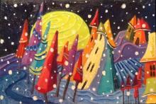Suzanne Therrien, Neige au clairi de lune
